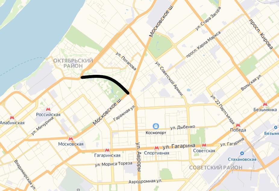 Объявлены торги на разработку проекта продолжения улицы Авроры