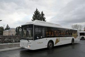 Тольятти получил 50 автобусов на газомоторном топливе