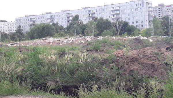 Торги отменены: тольяттинский бетонолом продолжит «украшать» Парк Победы