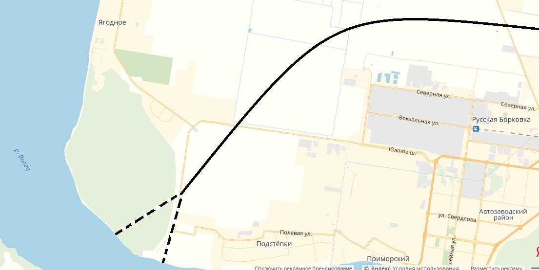 Стал известен точный маршрут трассы к мосту в Климовке