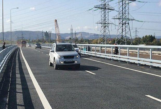 Частично открыто движение по путепроводу строящейся развязки на трассе М-5 в Тольятти