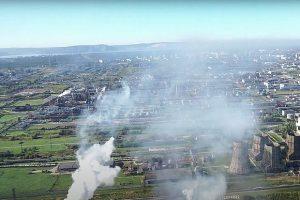 Новое видео на тему загрязнения атмосферы в Тольятти распространено в соцсетях