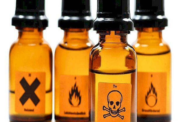 Чиновники отреагировали на сигнал о свалке опасных химикатов возле школы