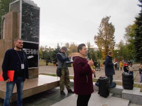 Прошел второй митинг против химвыбросов в Тольятти