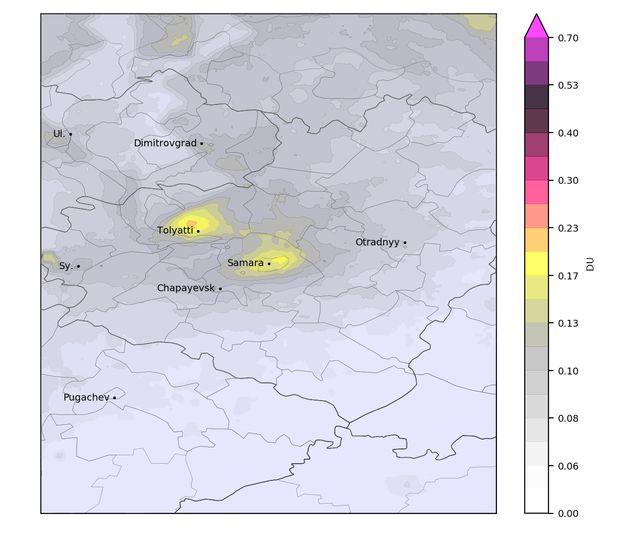 Самара попала в список городов с самой загрязненной атмосферой
