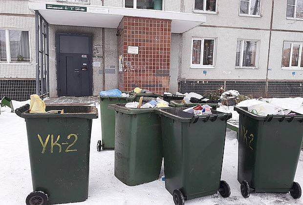 Почему не вывозят мусор?