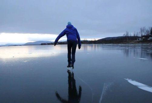 На Волге выявили опасные для выхода на лед места
