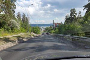 От «Автодоринжиринга» потребуют отремонтировать Лесопарковое шоссе по гарантии