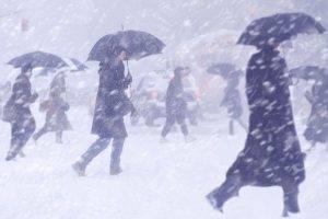 Самару замело снегом