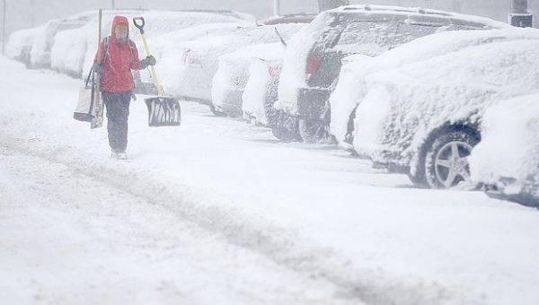 В Самарской области снова вводится «желтый уровень опасности» из-за снегопада