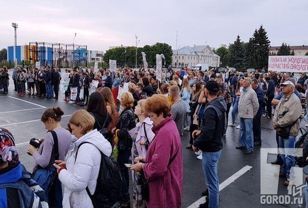 На экомитинг в Тольятти собралось лишь 250 человек