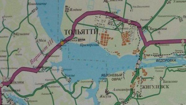 Мост Тольятти-Климовка включат в транснациональный маршрут