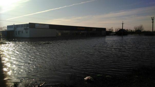 В Ставропольском районе ширится масштаб наводнения