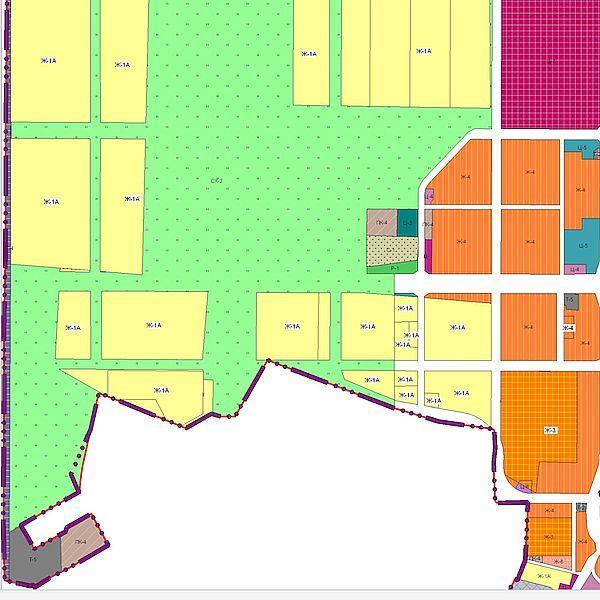 Планировку территорий за Московским проспектом представят для публичных слушаний