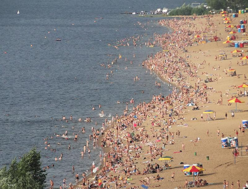 В Самаре на трех пляжах выявлена «несоответствующая микробиологическим показателям» вода