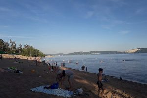 В Тольятти запретили купание на пляже