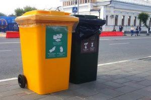 В Самаре установили 1100 контейнеров для раздельного сбора мусора