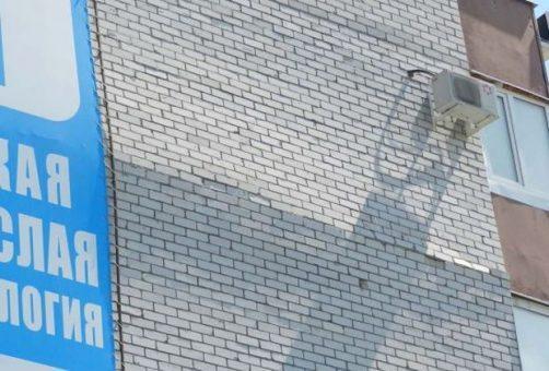 """""""Тополиную накроет"""": в Тольятти разрушается фасад жилого дома"""