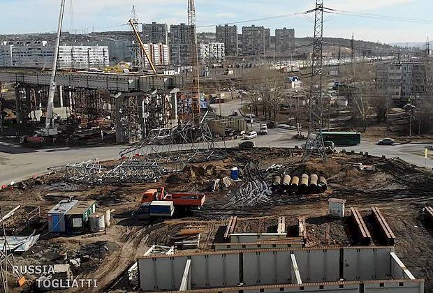 Перенос опоры ЛЭП на М-5 в Тольятти сдвинулся с мертвой точки