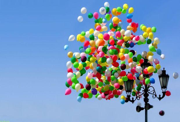 Запуск воздушных шаров на массовых мероприятиях могут запретить