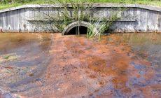 На самарском заводе «Кока-колы» прорвало канализацию: затоплен дачный массив