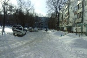В Тольятти не хватает денег на вывоз снега