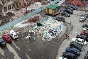 Самарцы сняли на видео несанкционированную свалку в центре города