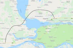 «Росавтодор» одобрил заявку Дмитрия Азарова на строительство моста в Климовке
