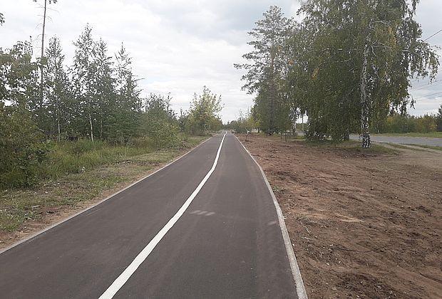 В Тольятти открыли недостроенную велодорожку