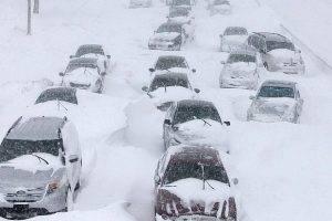 Самарских автомобилистов предупредили о чрезвычайной ситуации на трассах